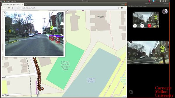 LiveMap: crowd-sourced knowledge of road conditions without driver distraction